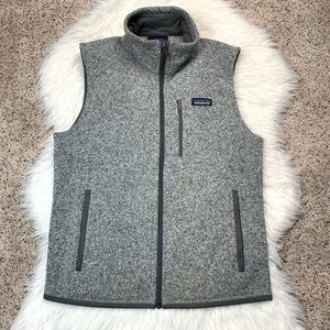 Patagonia Gray Better Sweater Vest Small